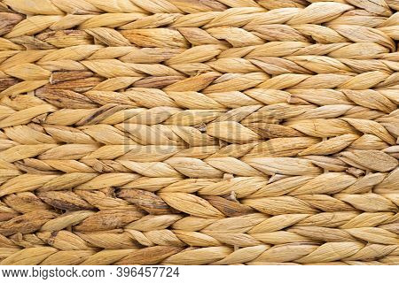 Weaving Texture Or Weaving Pattern Background. Weaves Pattern Classic Retro Background For Design. W
