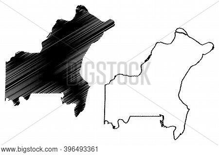St. Louis County, Missouri (u.s. County, United States Of America, Usa, U.s., Us) Map Vector Illustr