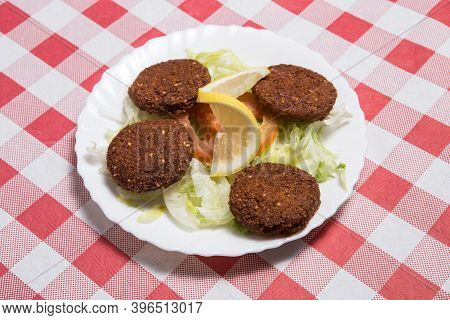 Lebanese And Middle Eastern Food Called Falafel