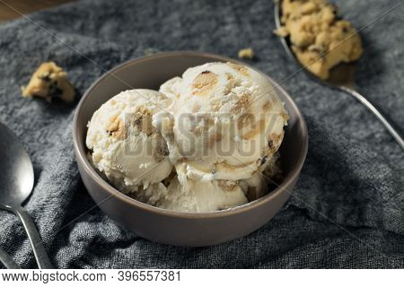 Frozen Cookie Dough Ice Cream