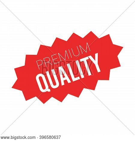 Red Sale Starburst Sticker - Stared Oval Label And Badge With Best Offer And Discount Sign.