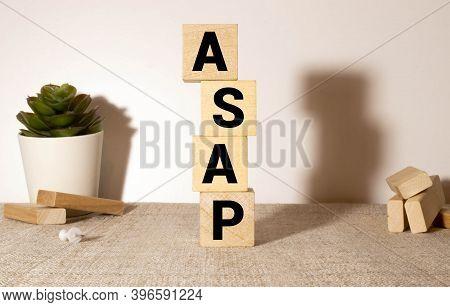 Building Blocks Written Asap, As Soon As Possible.