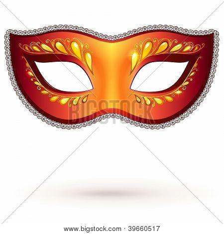 Vector venitian carnival mask