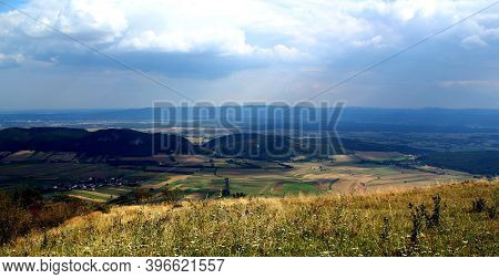 View From Hohe Wand / Austria / Lower Austria / Schneeberg And Rax Moutains