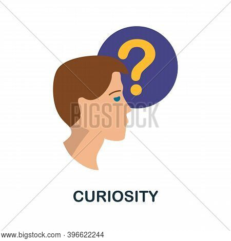 Curiosity Icon. Simple Element From Personality Collection. Creative Curiosity Icon For Web Design,