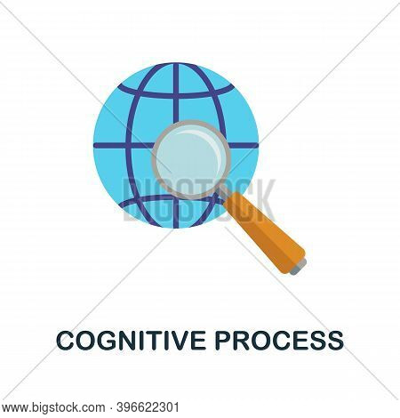 Cognitive Process Icon. Simple Element From Personality Collection. Creative Cognitive Process Icon