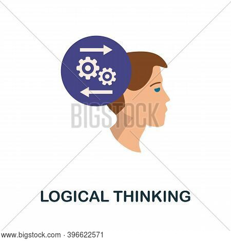 Logical Thinking Icon. Simple Element From Personality Collection. Creative Logical Thinking Icon Fo