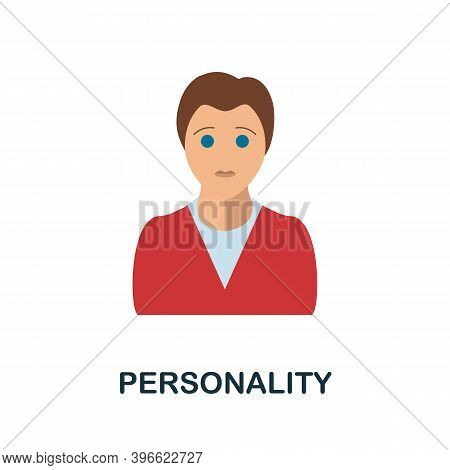 Personality Icon. Simple Element From Personality Collection. Creative Personality Icon For Web Desi