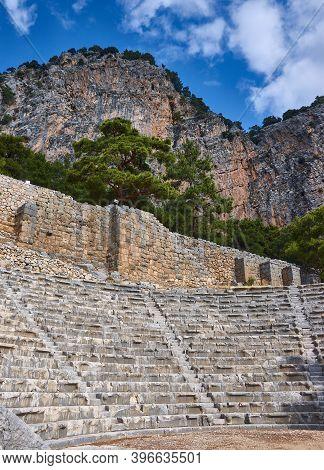 Amphitheater  Ancient Lycian City Of Arykanda.