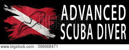 Advanced Scuba Diver, Diver Down Flag, Scuba Flag, Scuba Diving