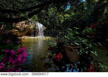 Prenn Waterfall In Dalat Vietnam