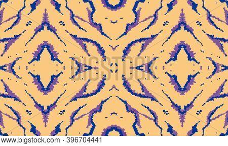 Seamless Abstract Ethnic Texture. Seamless Geometric Wild Stripes. Animal Skin Pattern. Seamless Afr