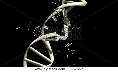 Dna String,Clipping Path Included