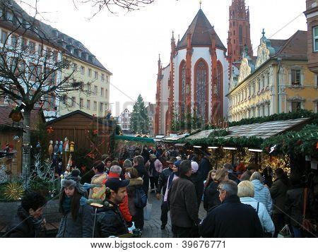 Weihnachtsmarkt in Wuerzburg