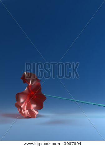 3D Plastic Flower