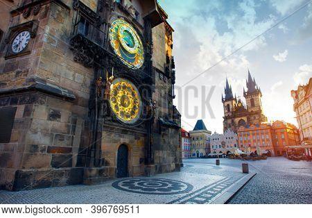 The old Town Square, Prague, Czech Republic
