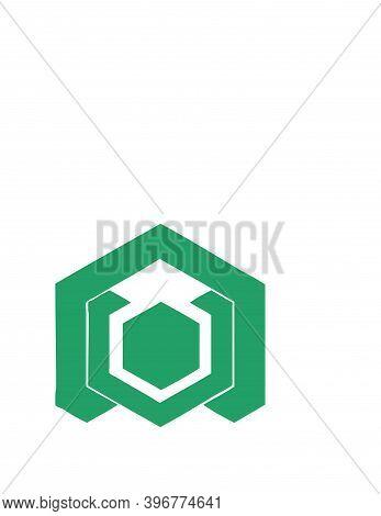 Un, Nu, Nv, Uv, Nov, Uon, Von Initials Geometric Logo And Vector Icon