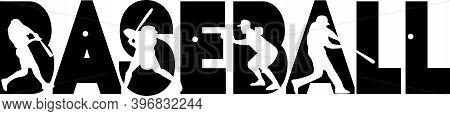 Baseball On The White Background. Vector Illustration