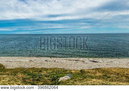Shorline Of Vessels Brook River. Gros Morne National Park, Newfoundland, Canada