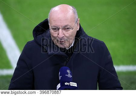 Milano, Italy. 25th November 2020. Giuseppe Marotta Ceo Of Fc Internazionale   During Uefa Champions