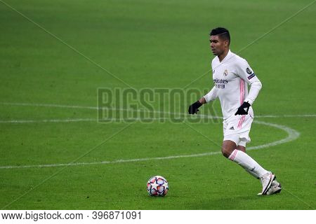 Milano, Italy. 25th November 2020. Casemiro Carlos Henrique Of Real Madrid Fc   During Uefa Champion