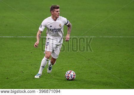 Milano, Italy. 25th November 2020. Toni Kroos Of Real Madrid Fc   During Uefa Champions League Group