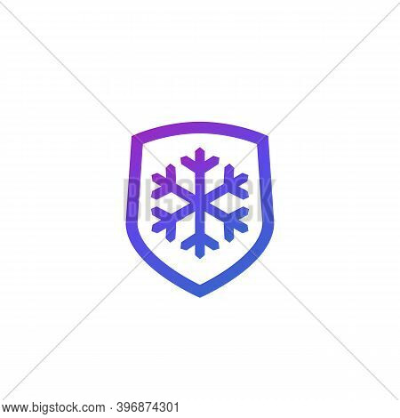 Frost-resistance, Cold Resistant Icon, Vector, Eps 10 File, Easy To Edit