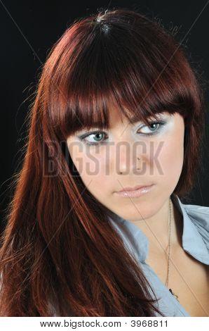 Portrait Of Nice Girl