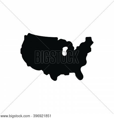 Black Solid Icon For County Territory Region Province Shire Constituency Map Continent Border Bounda