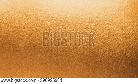 Copper Gold Texture Metallic Wrapping Foil Paper Shiny Orange Background For Wall Paper Decoration E