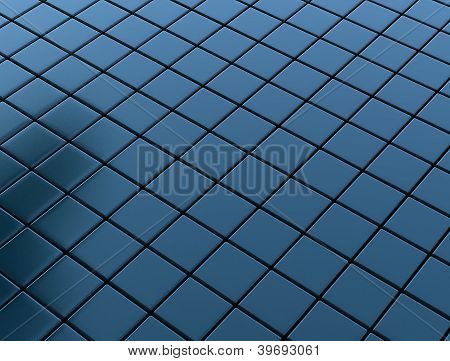 Metal Cube Texture Background