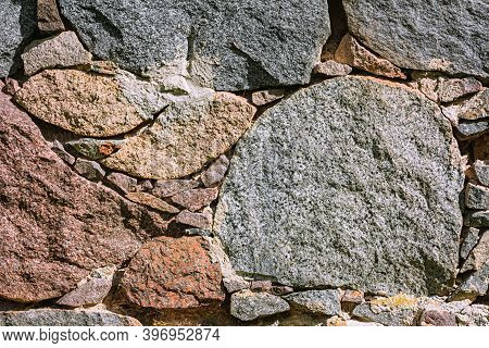 Abstract Background Wall Maden From Solid Stones