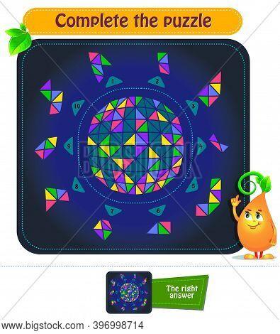 Brainteaser Complete The Puzzle
