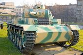 The T3 Tank Was Developed By Dimler-Benz Concern. poster