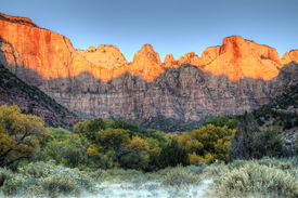 Towers of the Virgin Sunrise, Zion