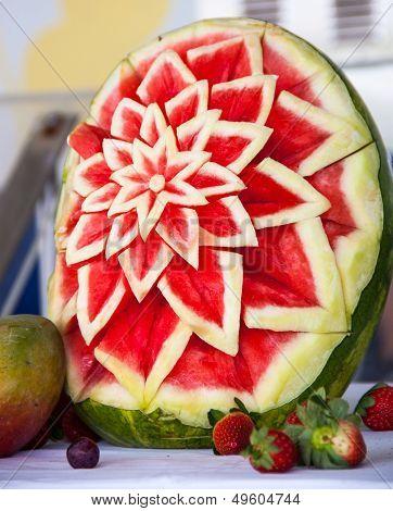 Flower of watermelon