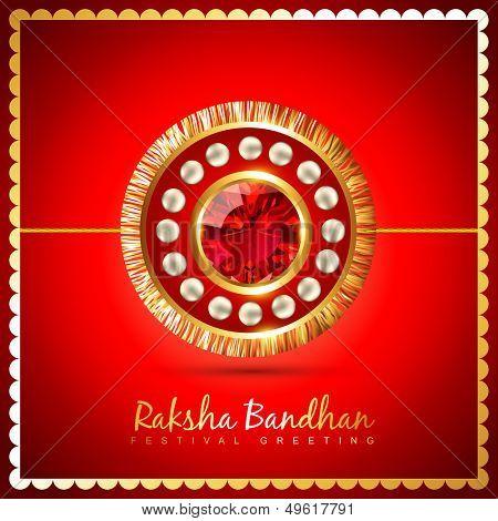 vector rakshabandhan festival background design