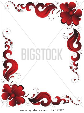 Black-red Ornament