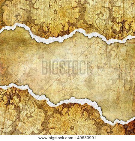 vintage tattered background