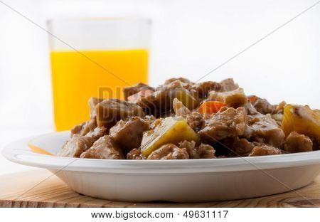 Cooked wheat gluten