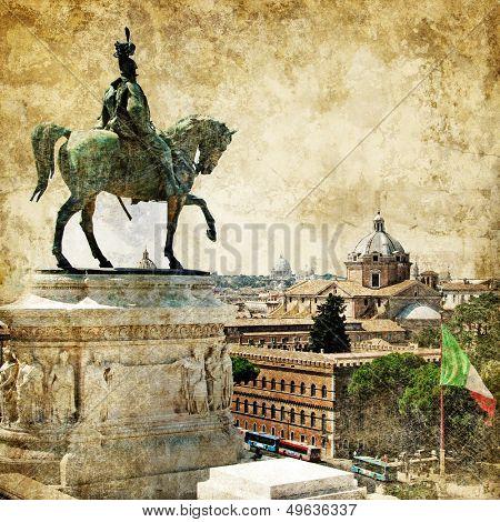 Rome - great italian landmarks series