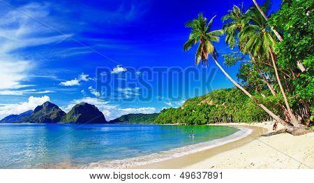 beautiful tropical scenery - el-nido,palawan