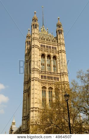 Victoria Tower Westminster London England Uk