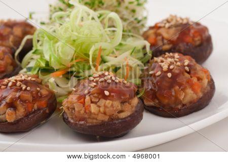 Chinese Vegetarian Mushroom Dish
