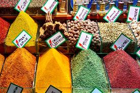 Spices On Retail Market