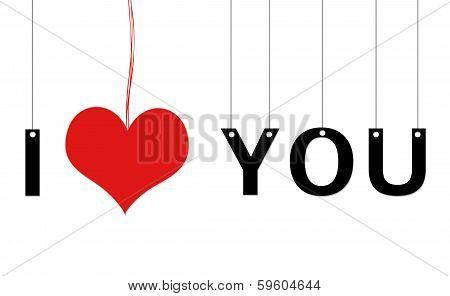 Image symbolizing I Love You
