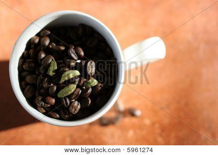 Coffee with cardamom
