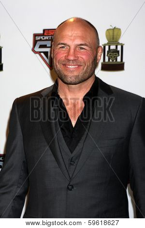 LOS ANGELES  - FEB 9:  Randy Couture at the ESPN Sport Science Newton Awards at Sport Science Studio on February 9, 2014 in Burbank, CA