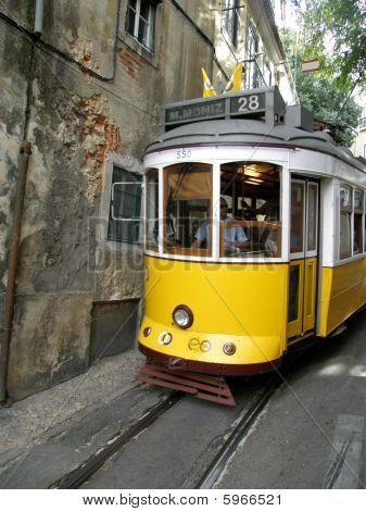 Historic Tram in lisbon