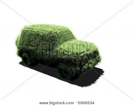 Four wheels car